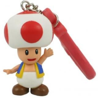 Super Mario   TOAD Pilz Schlüsselanhänger   NEU  Nintendo Produkt