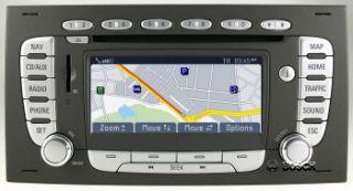 SD Radio Navigation Blaupunkt FORD TravelPilot FX Nachrüst Kit C MAX