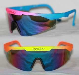 Sportbrille Shield Radbrille Skibrille Sonnenbrille Biker 775