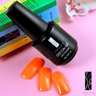 Fräulein3°8 Orange UV LED Gel Nail Art Polish Gelish Soak off 15ml