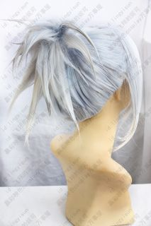 Final Fantasy Type 0 SICE GREY MIX Cosplay Costume Wig Cosplay party