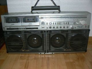 Sharp GF 777 , Made in Japan , Ghettoblaster , Boombox , Vintage