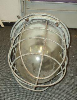 alte Industrielampe Shabby Chic Zipfelmütze TOP Design