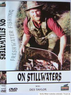 On Stillwaters+Des Taylor+Angel+DVD+Film+angeln+Kopfrute+Weißfisch