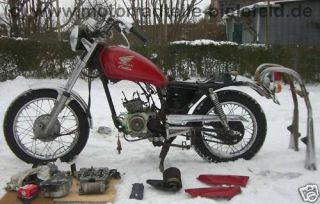 Honda CM CA CB 125 CM125 CA125 CB125 Rebell LiMa Deckel