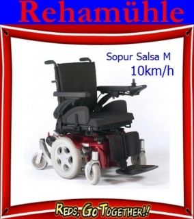 Elektro Rollstuhl Quickie Salsa M E Rollstuhl Sopur Mittelradantrieb