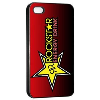 New Rockstar Energy Drink Seamless Apple iPhone 4 iPhone 4S Case Cover