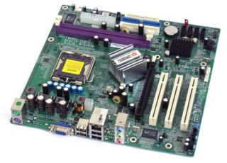 ECS EliteGroup RC410 M 2.0 So.775 ATI RC410 VGA SATA