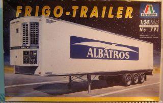 Italeri 1:24 No791 Frigo Trailer ,,Albatros Neu(615)