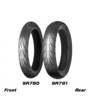 Shinko Motorrad Reifen 110/70 17 58 H SR 780