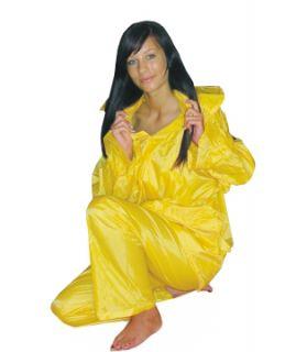 Polstar Regenanzug 2 Teiler (Jacke / Hose) Nylon gelb Gr. M XXXL Damen