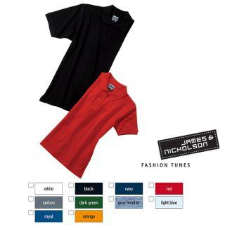 James & Nicholson Herren Polo Shirt Workwear Men S 3XL