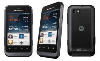 Motorola Defy Mini Black Smartphone Handy Schwarz Neu & OVP