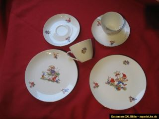 Wunsiedel, R, Bavaria Germany mit Goldrand Qualitäts  Porzellan für