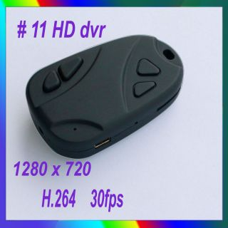 HD #11Mini Car Key Chain Camera Video Recorder DVR 808
