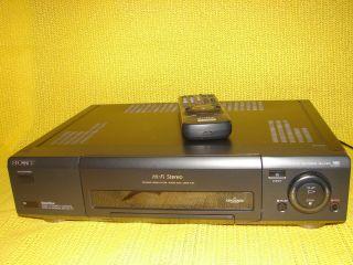 Sony SLV E811 VHS Videorekorder, Show View, mit FB