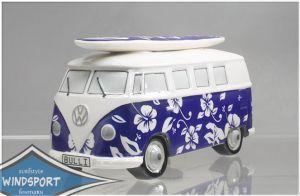 VW Surf Bulli T1 Spardose Hawaii dunkelblau VW Bus lizensiert