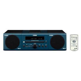 Yamaha MCR 040 dark blue Micro Anlage inkl. iPod Dock