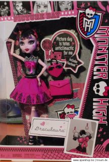 Monster High Spectra Abbey Cleo Draculaura X4625 Picture Day Wave 1