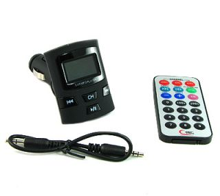 FM TRANSMITTER ORDNER/MEMORY/LCD/FB/SD/USB SCHWARZ MATT