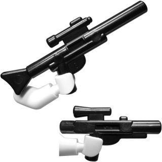 LEGO Star Wars Waffen Blaster 5er Set 4x kurzer Blaster, 1x langer