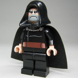 LEGO Star Wars Custom Figur Count Dooku (Sith Lord) mit Machtblitzen