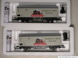ML23 4x Roco H0 Kühlwagen Berchtesgardener Land Güterwagen KKK