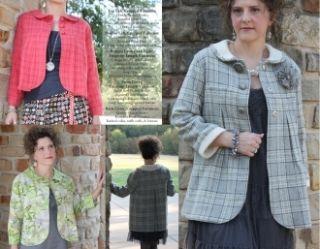 Savannah Swing Jacket Sewing Pattern by Serendipity Studio *NEW