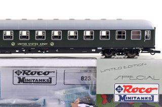 Roco Minitanks 823 Liegewagen der DB UNITED STATES ARMY Transportation