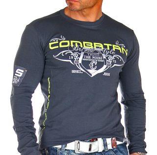 BranDNeW CluBWeaR Longsleeve Sweat Shirt XL 809 GRAU