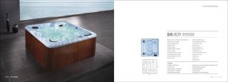 OUTDOOR INDOOR WHIRLPOOL Jacuzzi Spa HOT TUB   32 Modelle   18 Farben