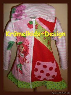 Roos Farbenmix Zipfel Jacke Mantel 122/128 *NEU*Erdbeer*Zipfeljacke