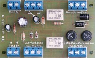 Bremsmodul, Signalmodul kompatibel zu Märklin   Digital