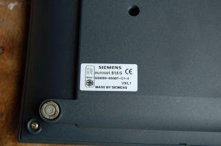 Telefon Siemens Euroset 815 S Festnetztelefon Basistelefon