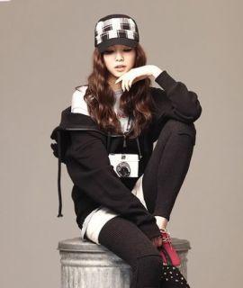 New Emo Cosplay Japanese Korean Angel Wing Cool Hip Fun Hoodie Shirt
