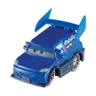 DISNEY PIXAR CARS 1/55 Diecast 52 DJ Lightning McQueen Brand New