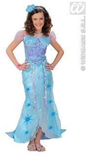 Meerjungfrau Kostüm Arielle Fasching Karneval Mädchen Kinder Gr. 128