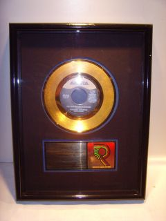 Whitney Houston goldene Schallplatte RIAA Award Single