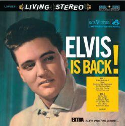 RCA  Elvis Presley   Elvis Is Back LP