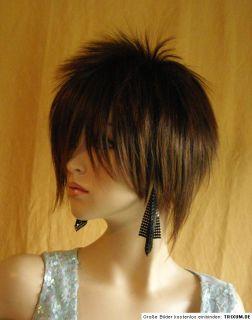GOTHIK STACHO PUNK FRAU Perücke Mannequin Wig Haare HOT