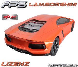 MJX RC Modell Auto Lamborghini AVENTADOR LP 700 4 114 RTR Akku LED