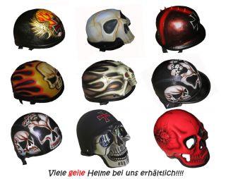 Motorradhelm Wikinger BIKER HELM CHOPPER bulzeye