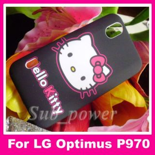 Hello kitty hard Case cover for LG Optimus Black P970 / Sprint Marquee