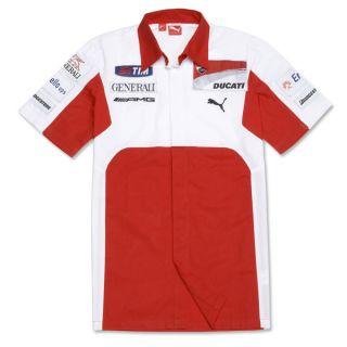 DUCATI Puma Hemd Replica GP ´12 Team ROSSI Hayden Moto GP NEU 2012