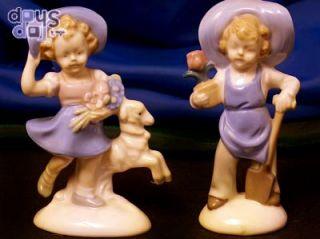 Kinderfiguren Porzellan  JUNGE & MÄDCHEN  Original Gräfenthal