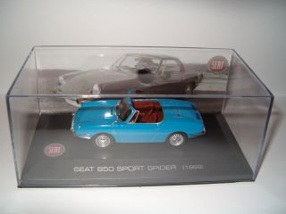 SEAT 850 SPORT SPIDER (1969) FIAT CAR 143 SCALE BOXED