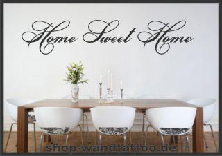 Wandtattoo Spruch Home sweet Home ★★Nr.840