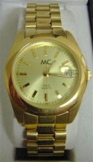 MC Timetrend Damenuhr Edelstahl gold 39,99€ #076