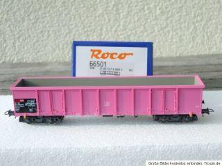Roco 66501 4 achsiger offener Gueterwagen Eanos SBB Ep 4 5 wie neu i