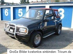 Top Suzuki Vitara TA 1,6l CAMI 1,6 i Breit   schwarz